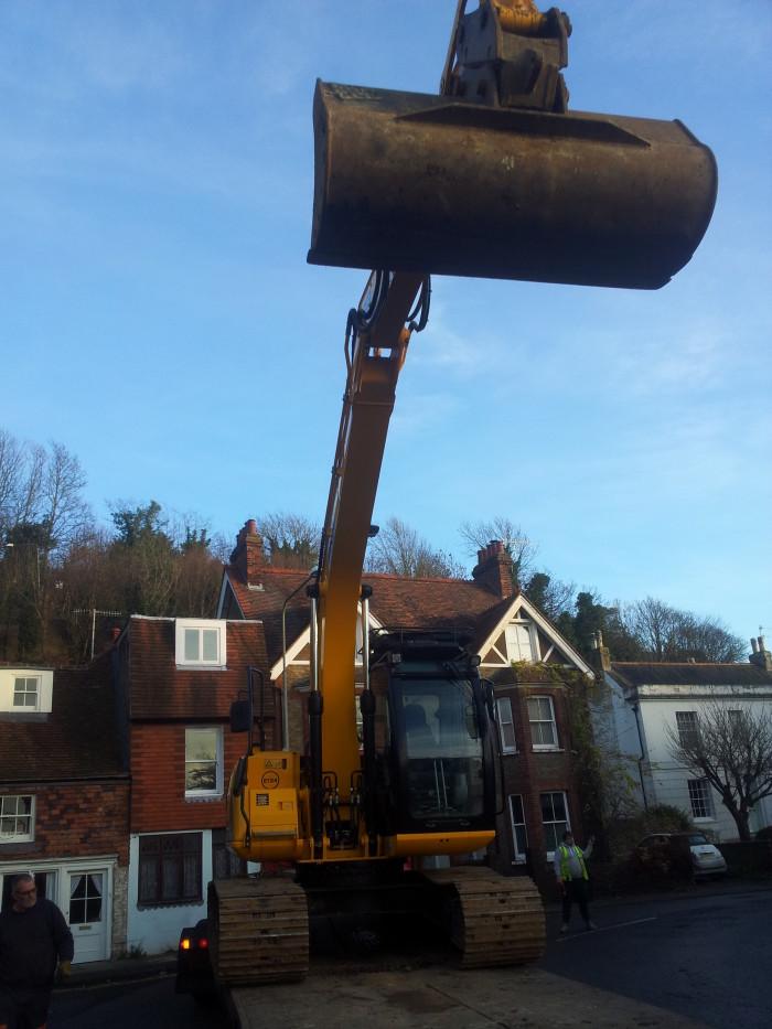 13 tonne whopper digger