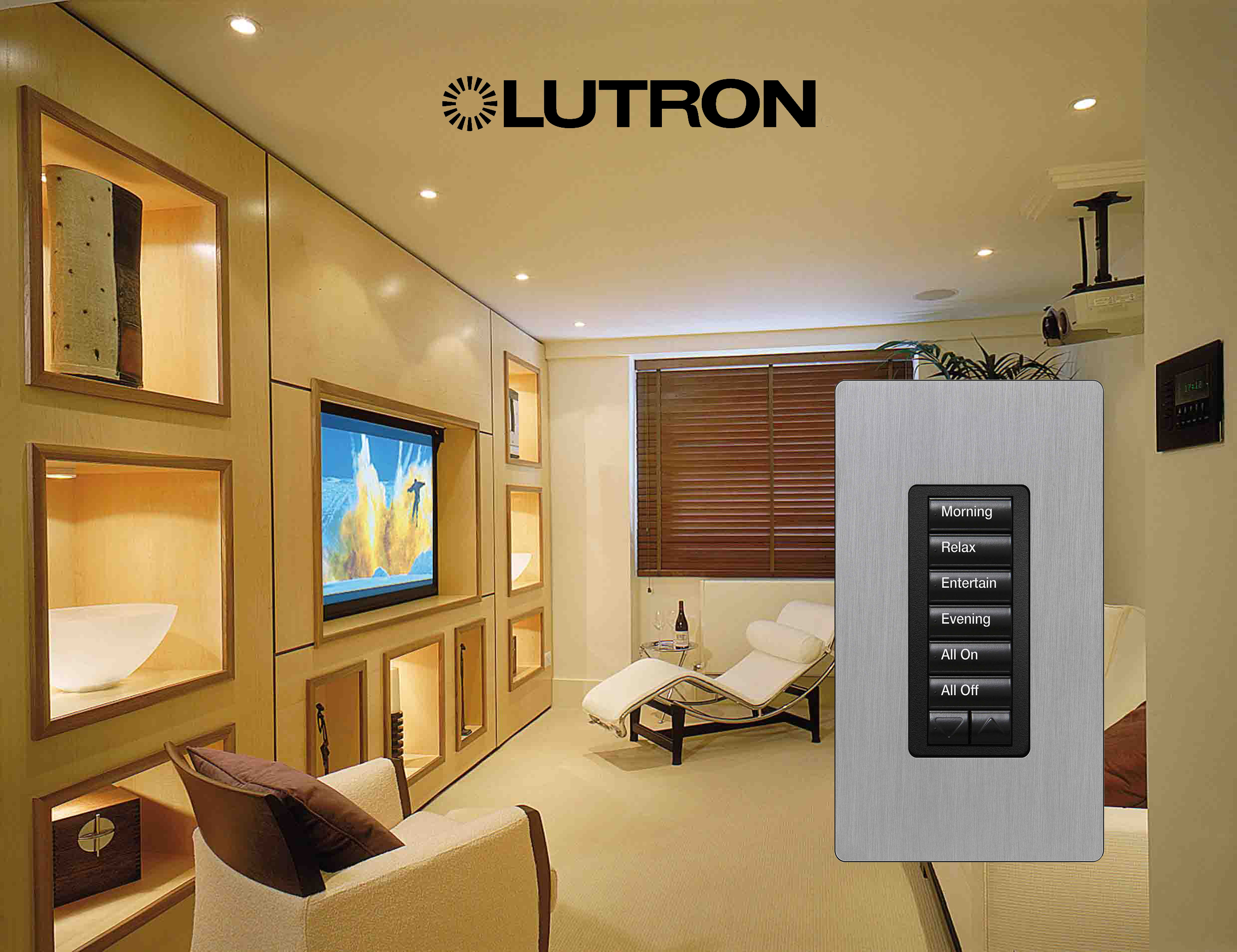 Lutron Lighting Control System Sky House Sussex