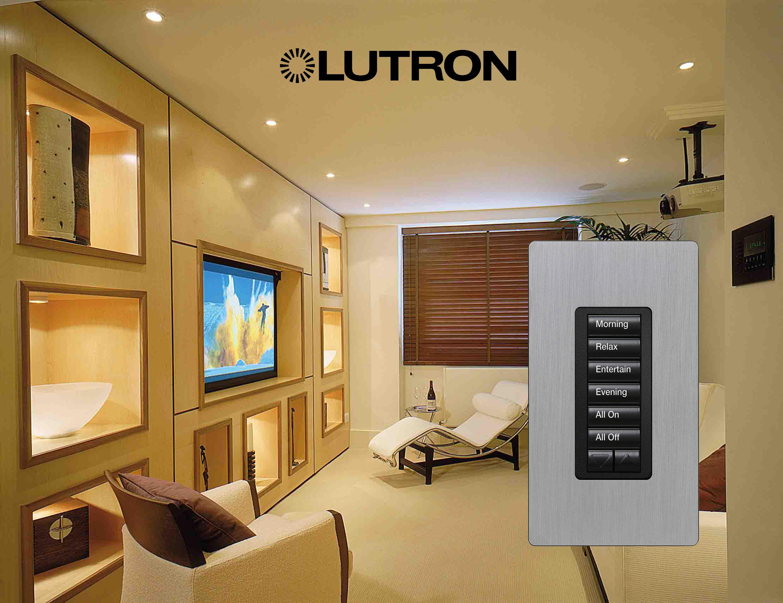 Lutron Lighting Control System Sky House Sus